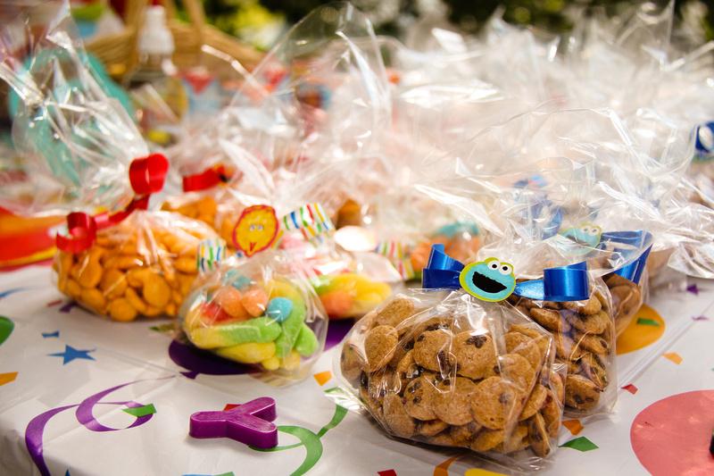 Wraven Design Sesame Street 1st Birthday Party
